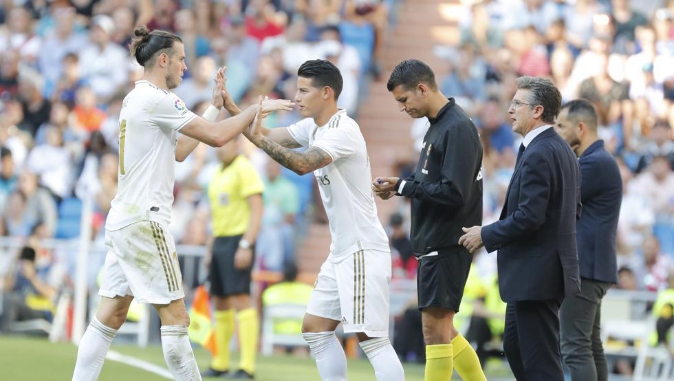 Bale y James, problemas en el horizonte blanco