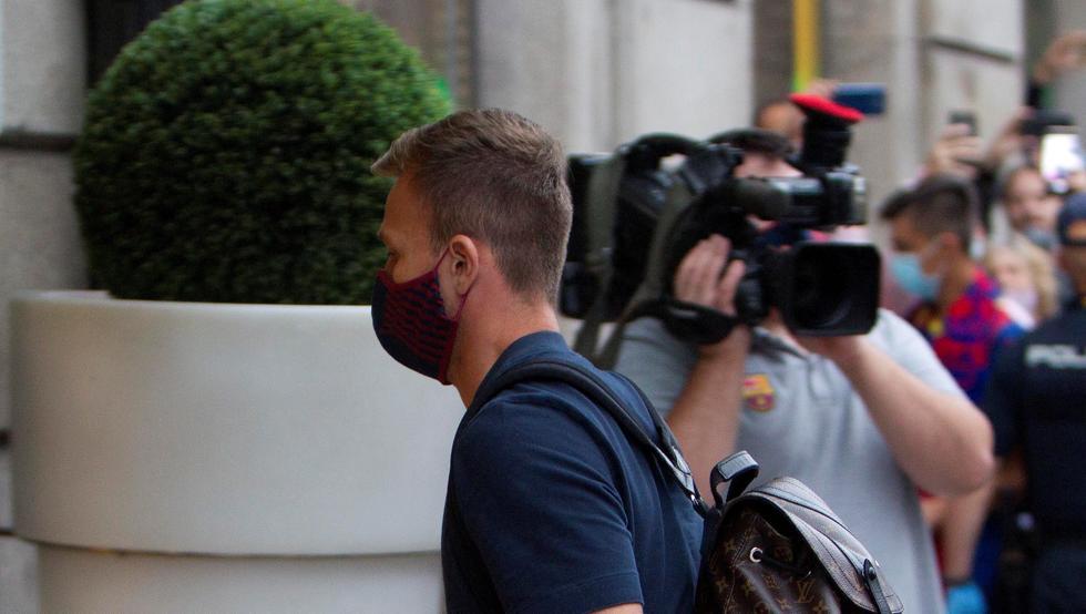 La plantilla del Barça envió su apoyo y solidaridad a Arthur