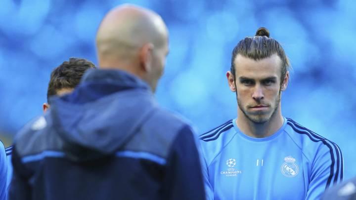 Bale, cara a cara con Zidane