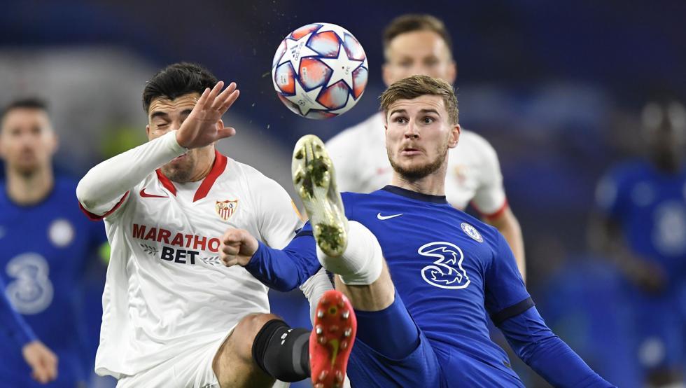 Un Sevilla con personalidad intimida al Chelsea (0-0)