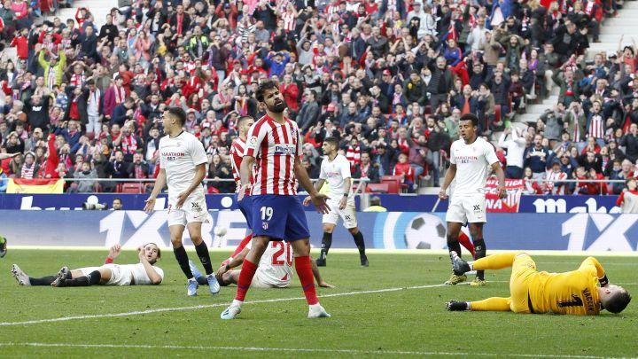 El anterior Atlético-Sevilla fue el último partido con público en el Wanda Metropolitano