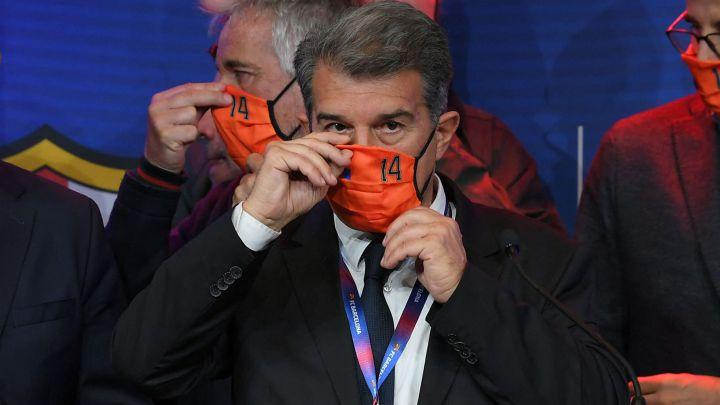 Joan Laporta negocia contra reloj su presidencia