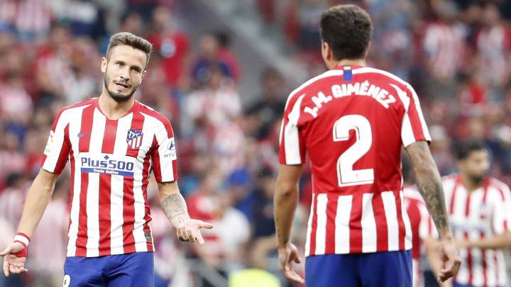 La lista de bajas que maneja el Atlético: Saúl, Giménez, Vitolo…